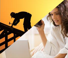 traditonal job vs work at home