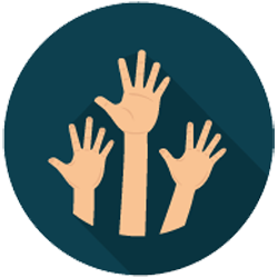 help others by volunterring