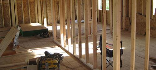 framing a wall corner